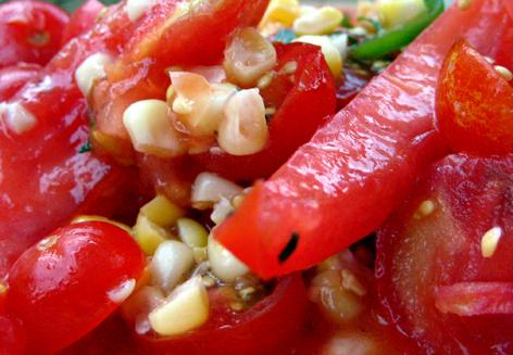 TomatoesNcorn